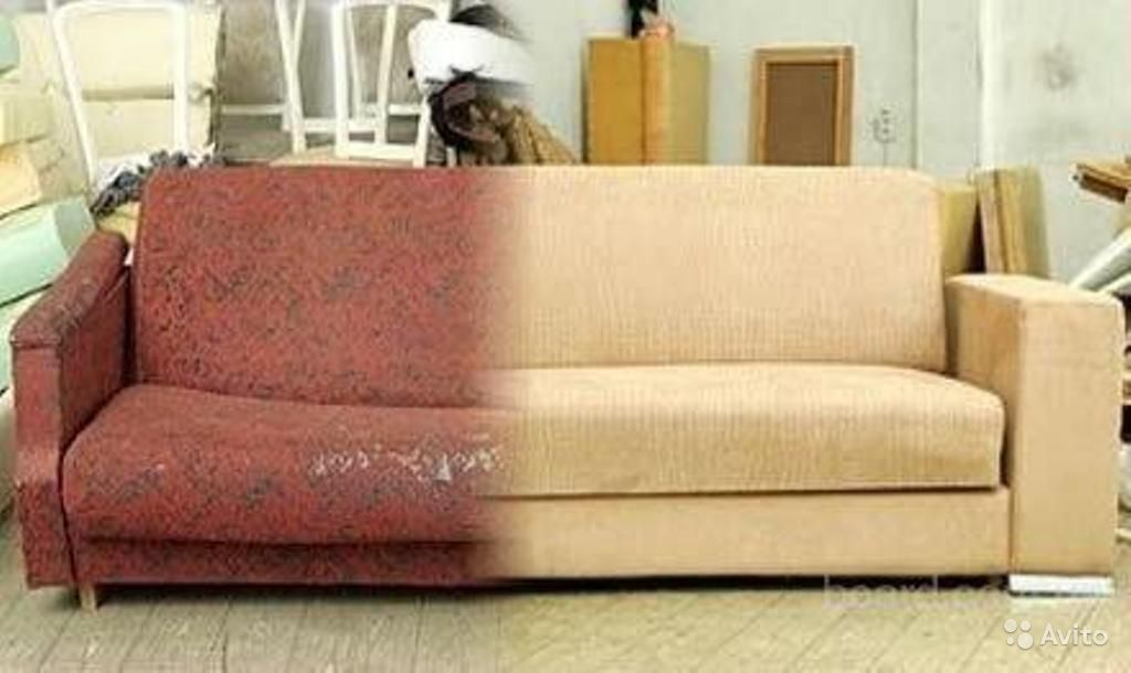 Перетяжка мебели олег