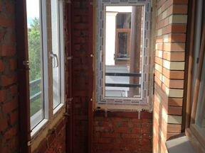 Окна+балконный блок новые демонтированные в красногорске мос.