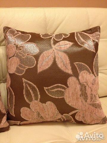 Подушки с мебельной ткани