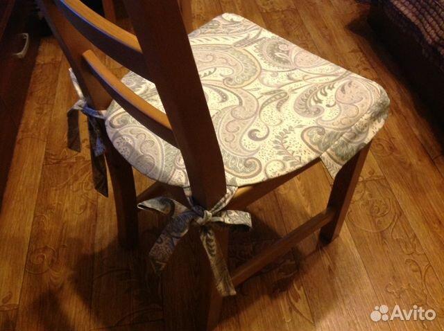 Как сделать мягкие сиденья на стул 387