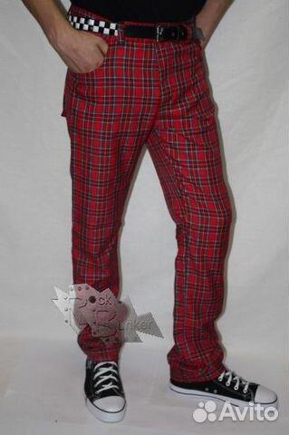 Рваные джинсы, подвернутые или обрезанные до щиколоток, бриджи, клетчатые...
