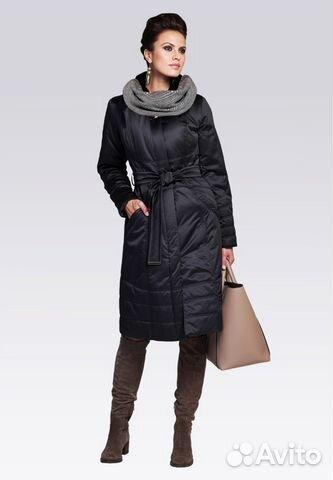 Модное пальто на синтепоне