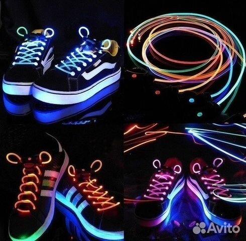 Как сделать шнурки что светятся