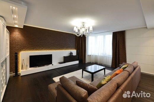 Гостиная в двухкомнатной квартире фото