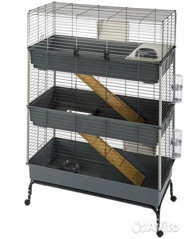 Ferplast клетка rabbit 100 new для кроликов 95*57*46 см