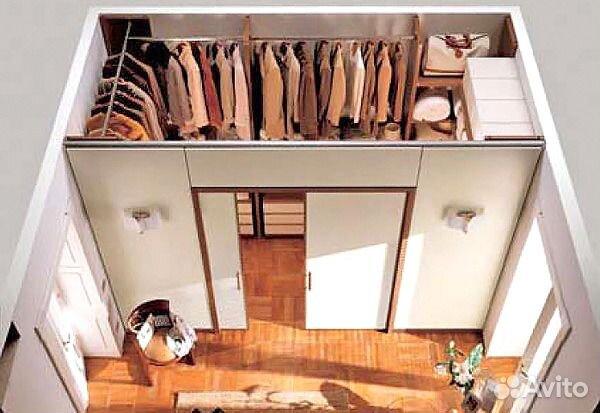 Как обустроить маленькую гардеробную комнату своими руками