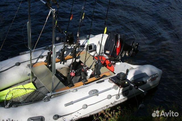 оснастить лодку пвх для троллинга