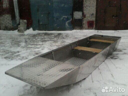 изготовление лодки с плоским дном