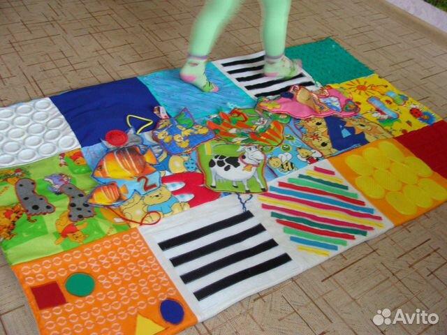 Коврики сенсорные своими руками в детском саду