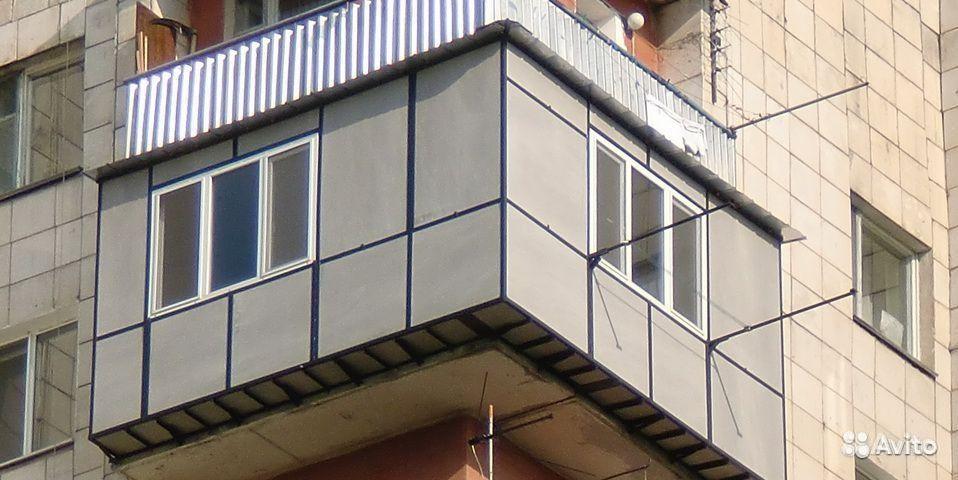 Расширенный балкон фото..