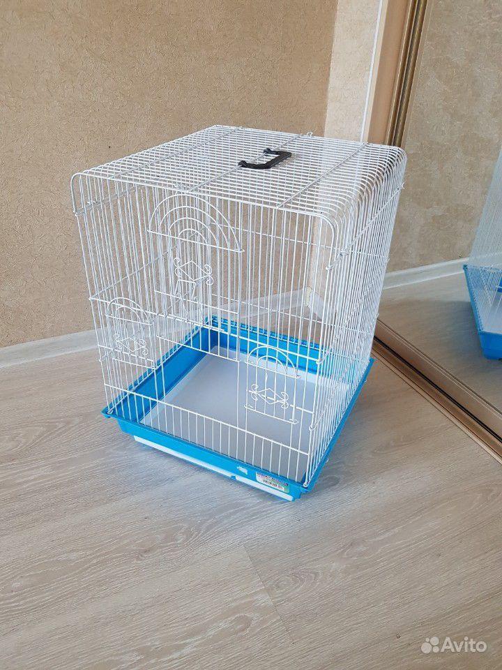 Клетка для птиц большая. Размер 47см47см62 см