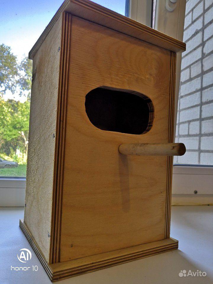 Домик для попугаев
