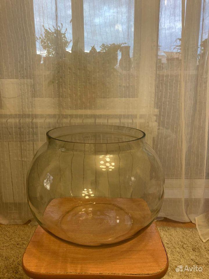 Аквариум круглый 18 литров купить на Зозу.ру - фотография № 1