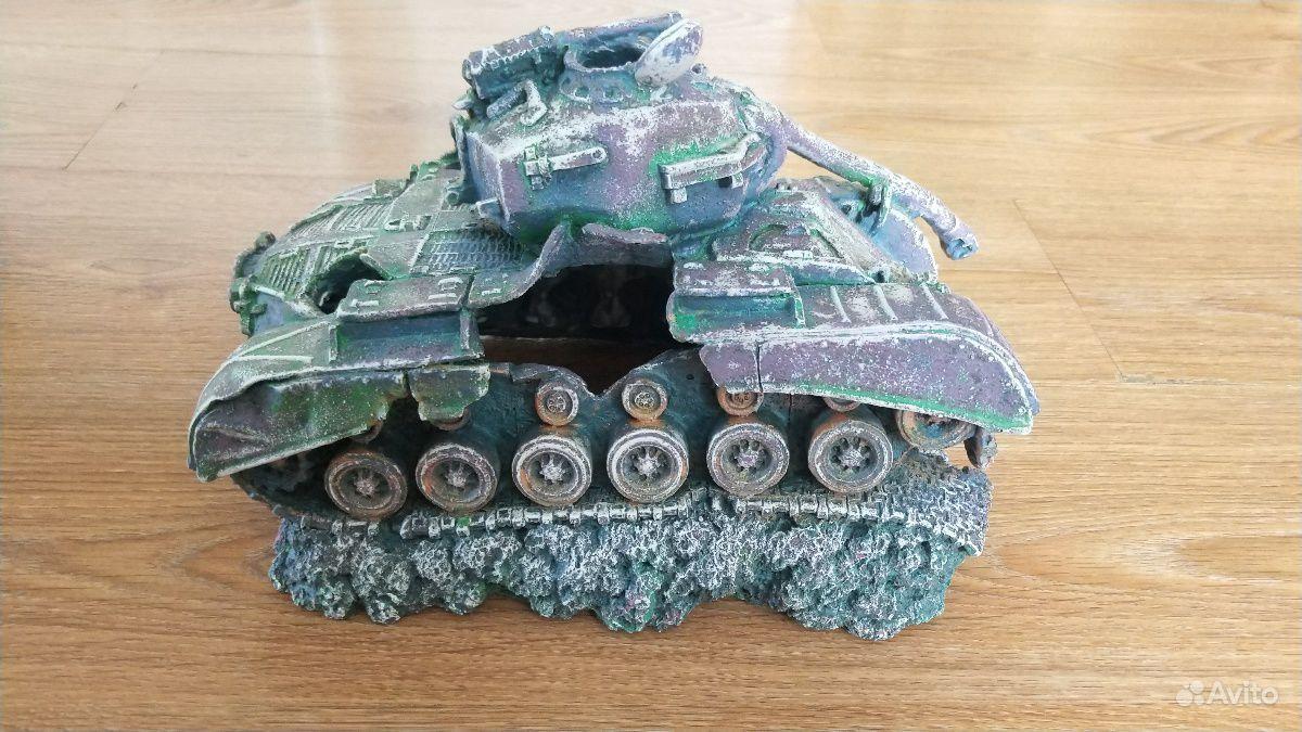 Затопленный танк для аквариума купить на Зозу.ру - фотография № 4