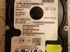 Western Digital WD800BB-22JHC0, 80 Gb IDE