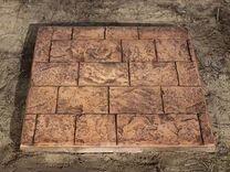 Штампы для печатного бетона в леруа мерлен купить бетон w10 характеристики