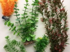Набор искусственных водорослей для аквариума