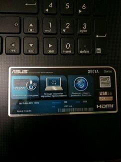 Ноутбук asus x501a-xx113r объявление продам