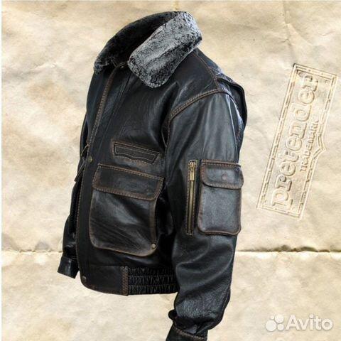 161349c7dd278 Куртка кожаная мужская