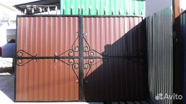 Куплю ворота в улан удэ цвета профнастила для забора