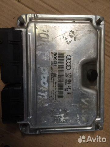 Блок упр двигателем Ауди 4Z7907401A— фотография №1