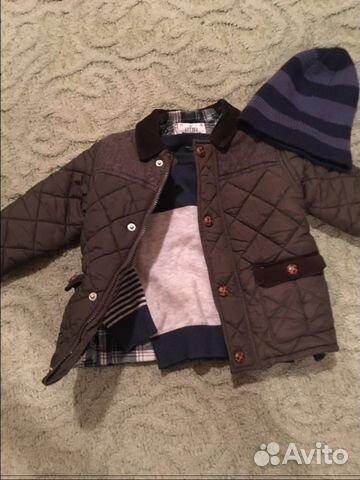 Комплект на весну Куртка свитерок next 98