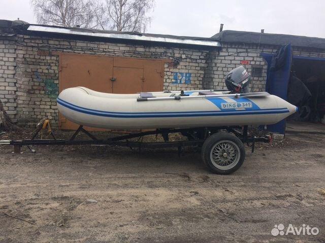 лодка dingo 34f олива