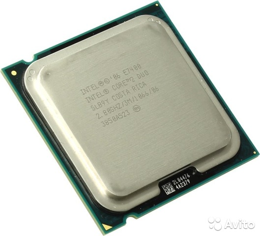 Core2 Duo E7400 (3M Cache, 2.80 GHz)— фотография №1