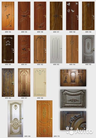 образцы мдф металлические двери
