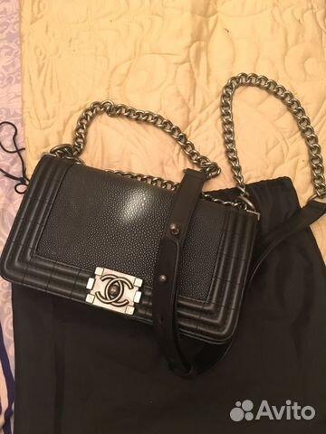 Chanel сумка пакет