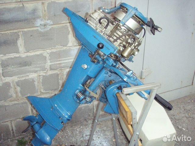 лодочный мотор москва-м10