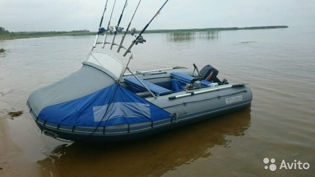 купить лодку пвх флагман 420 в петербурге