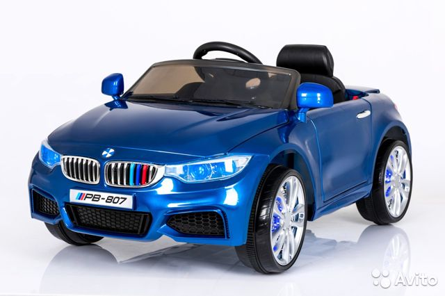 детский электромобиль bmw джип малый одноместный #11