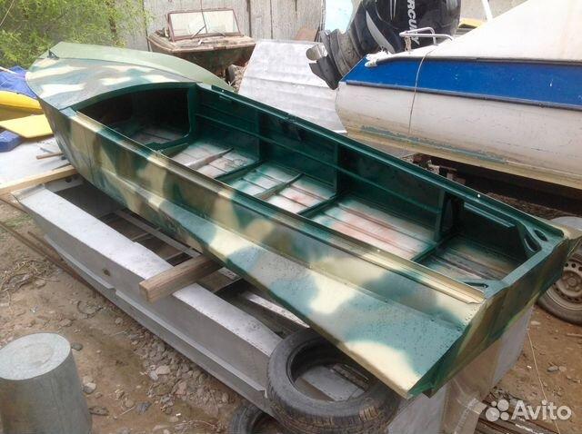 лодки казанки бу москва и область