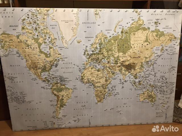 картина карта мира икеа бьеркста Festimaru мониторинг объявлений