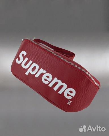 7e759da075df Сумка на пояс Louis Vuitton Supreme LUX арт.075-2 купить в Москве на ...