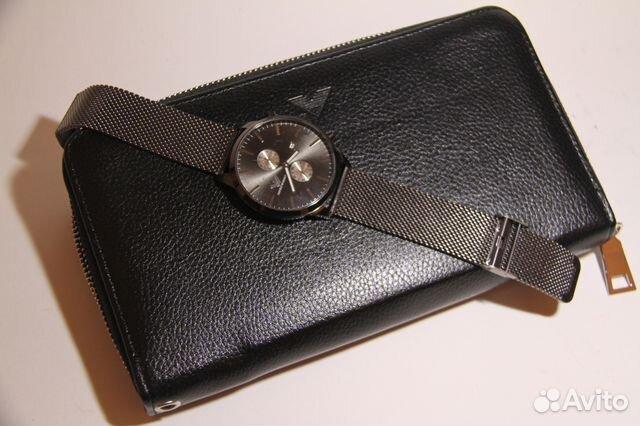 Шикарный клатч Armani + оригинальные мужские часы   Festima.Ru ... c595b7a4c5f