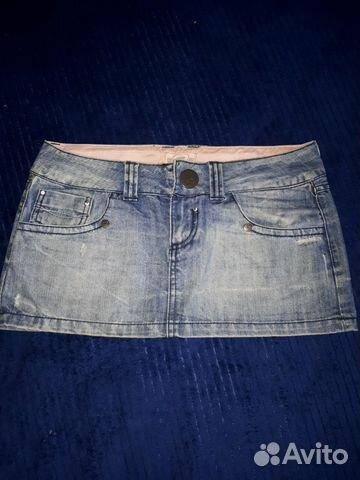 Юбка джинсовая 89506354773 купить 1