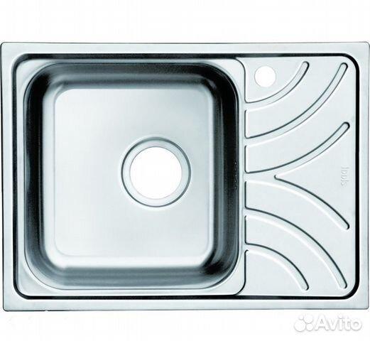 Кухонная мойка iddis arro s arr78sxi77 шелк отделка ванные комнаты