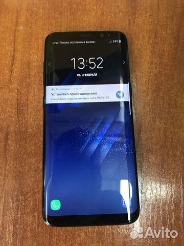 f7084cd2429 SAMSUNG Galaxy S8 SM-G950FD Ростест купить в Москве на Avito ...