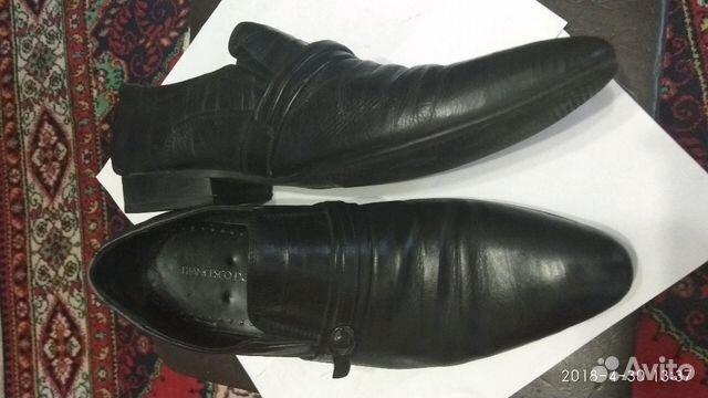 Туфли кожаные мужские 89301297093 купить 3