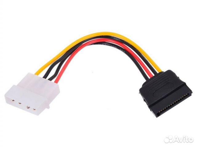 Переходник Molex - 6pin, Molex - SATA 89814671359 купить 3
