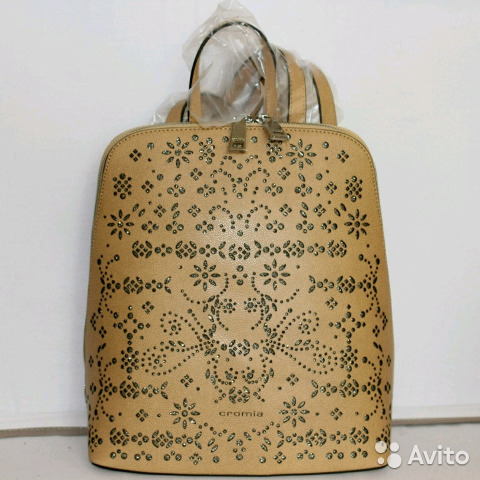 dd37976b52d2 Новый рюкзак Оригинал Cromia Италия из натуральной | Festima.Ru ...