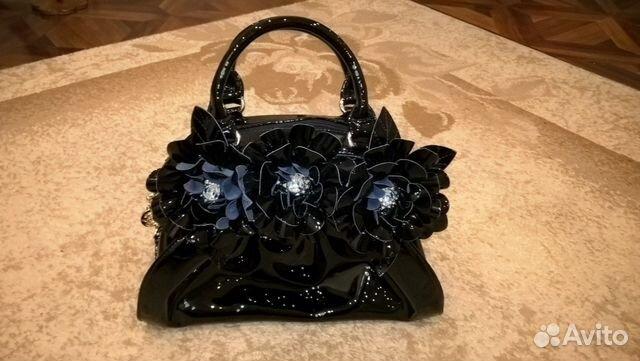 0604d2951cb0 Черная лакированная сумка купить в Орловской области на Avito ...