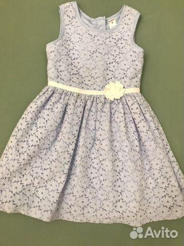 47611aee68e Нежное кружевное ллатье Zara на 8-10 лет