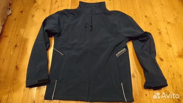 89036020550 Хок. Куртка Warrior soft jacket, т.синяя, p. M, L