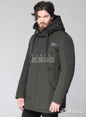 Новая мужская зимняя парка хаки. Мужская куртка купить в Санкт ... 7934f72fcad