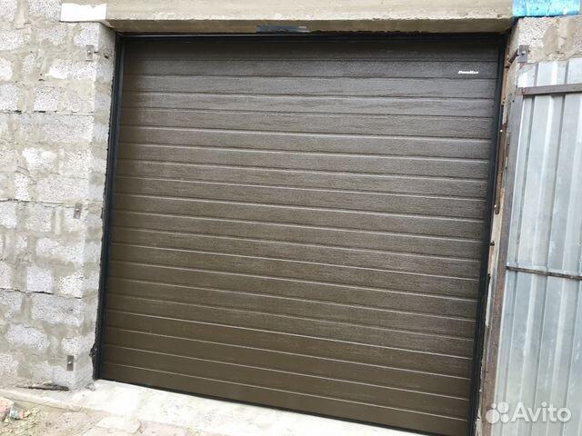 Ворота для гаража купить на авито железную печь обложить кирпичом в гараже