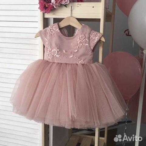 d3ca8ddae7e Детское нарядное платье на годик купить в Челябинской области на ...