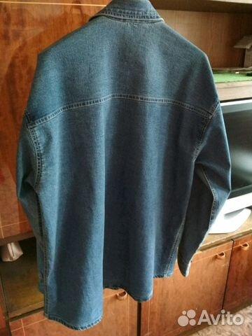 Джинсовая рубашка 89029228703 купить 1